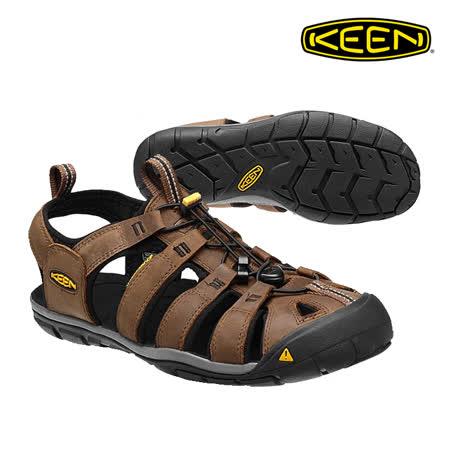 KEEN 織帶涼鞋 Clearwater CNX 1013106《男款》