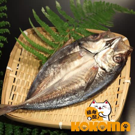 《極鮮配》竹筴魚一夜干(130g±10g/尾)