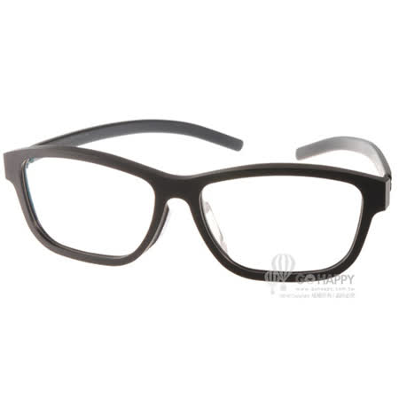 Ic! Berlin眼鏡 薄鋼代表作(黑) #BUS 120 WEIβE STADT BLACK