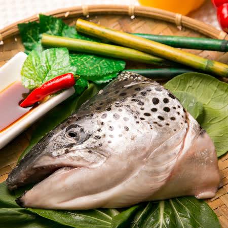 《極鮮配》挪威鮭魚頭(500g±10%/包)