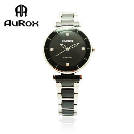 【好物分享】gohappy 購物網AuRox歐銳時 都會雅漾陶瓷不銹鋼石英錶(AR0524-優雅黑)評價太平洋 百貨 太平洋 sogo