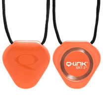 Q-Link 量子共振晶體項鍊 亮橘色