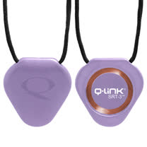 Q-Link 量子共振晶體項鍊 紫色