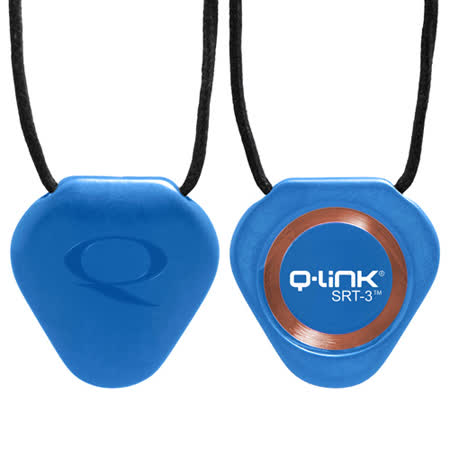 Q-Link 量子共振晶體項鍊 時尚藍