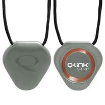 Q-Link 量子共振晶體項鍊 時尚灰