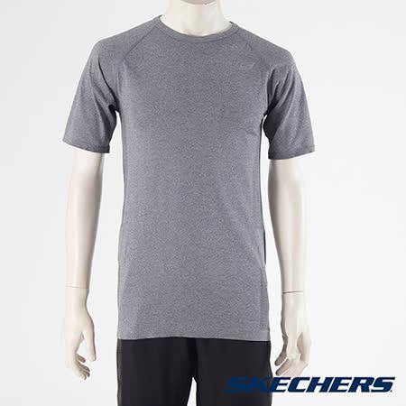 SKECHERS 男短袖衣 - GMF1522BLK