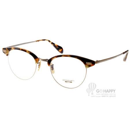 OLIVER PEOPLES眼鏡 百搭眉框款(黃琥珀-金) #EXECUTIVE2 1155