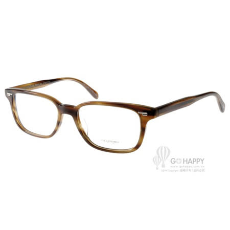 OLIVER PEOPLES眼鏡 經典簡約款(流線棕) #SORIANO 1156