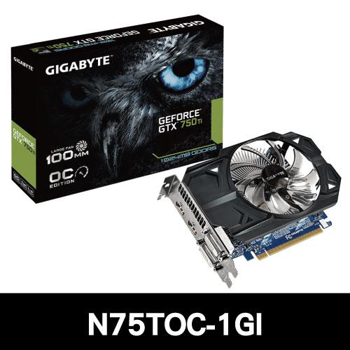 Gigabyte技嘉 GV~N75TOC~1GI 顯示卡