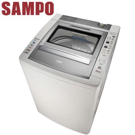 SAMPO聲寶 13公斤好取式定頻洗衣機ES-E13B(J) 送安裝+西華樂活玻璃瓶微烤盒6件組