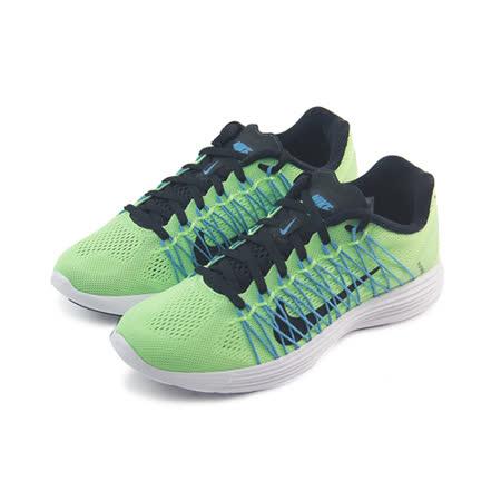 (女)NIKE WMNS NIKE LUNARACER+ 3 慢跑鞋 綠/黑/藍-554683344