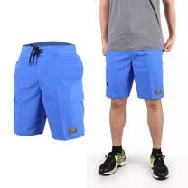 (男) SPEEDO 休閒海灘短褲 MARGIC PRINTED-海邊 休閒 游泳 藍