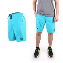 (男) SPEEDO 休閒海灘短褲 MARGIC PRINTED-海邊 休閒 游泳 湖水藍