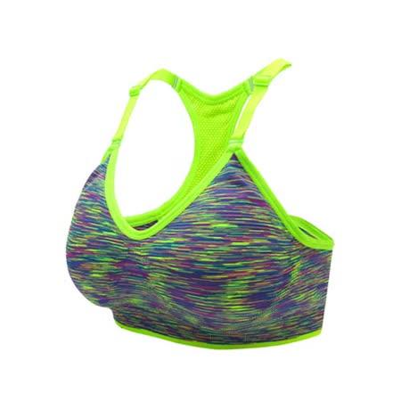 (女) INSTAR 細肩帶運動內衣-運動BAR 背心 韻律 有氧 瑜珈 比基尼 螢光綠
