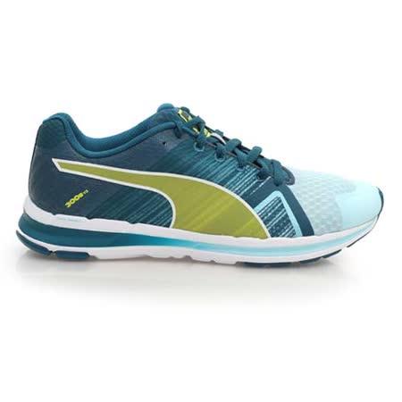 (女) PUMA FAAS 300 S V2 慢跑鞋- 路跑 湖水藍芥末黃