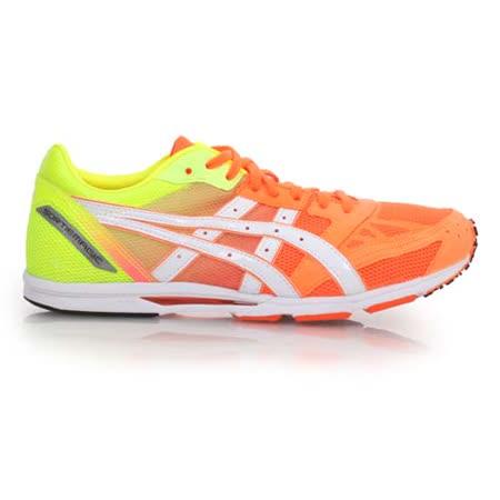 (男女) ASICS SORTIEMAGIC RP2 馬拉松鞋- 寬楦 路跑 亞瑟士 亮粉螢光綠