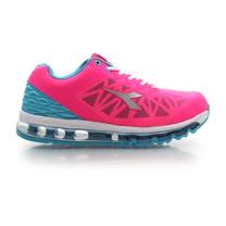 (女) DIADORA 氣墊慢跑鞋-路跑 寬楦 運動鞋 休閒鞋 桃紅藍