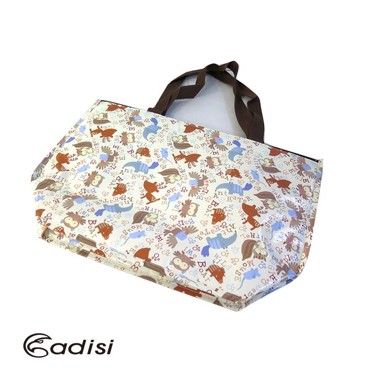 ADISI 托特包保冷袋AS15137 城市綠洲^(戶外、露營踏青、食物保鮮、簡易攜帶^)