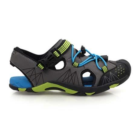 (童) DIADORA 男女運動涼鞋-排水 拖鞋 休閒涼鞋 藍綠