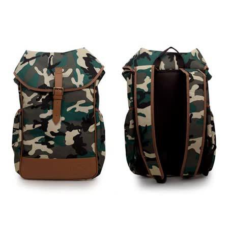PUMA 後背包- 雙肩包 肩背包 旅行包 迷彩 F