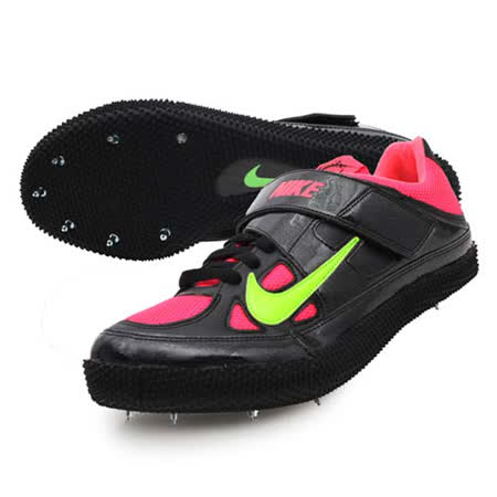 (男) NIKE ZOOM HJ III  跳高釘鞋- 跳高鞋 田徑釘鞋 桃紅綠