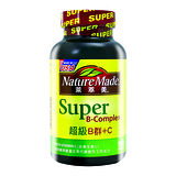 NatureMade萊萃美SUPER 超級B群加C錠100粒 新包裝上市