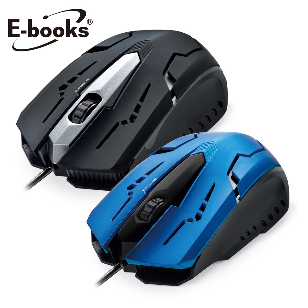 《二入組》E-books M21 電競1600CPI光學滑鼠