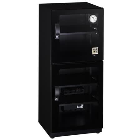 【收藏家】時尚環控款132公升電子防潮箱CD-125