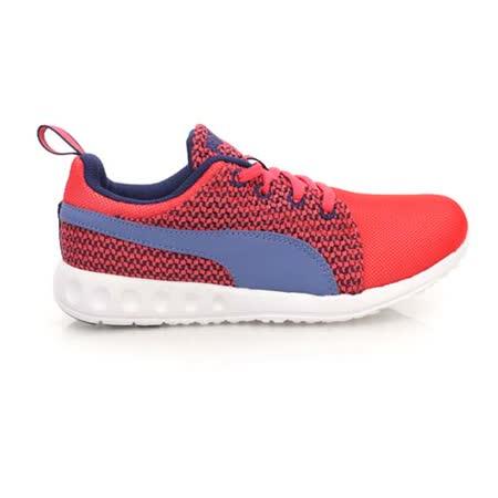 (女) PUMA CARSON RUNNER KNIT WNS 運動慢跑鞋- 路跑 紅紫