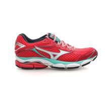 (女) MIZUNO WAVE ULTMA 7 慢跑鞋- 路跑 美津濃 桃紅綠