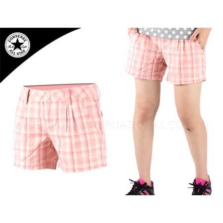 (女) CONVERSE 短褲  橘白 29