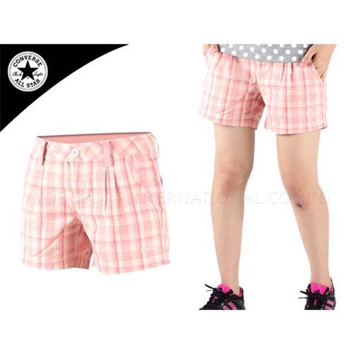 ^(女^) CONVERSE 短褲 橘白 29