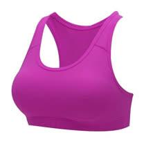 (女) HODARLA 運動內衣-運動背心 台灣製 韻律 有氧 瑜珈 紫