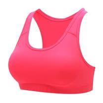 (女) HODARLA 運動內衣-運動背心 台灣製 韻律 有氧 瑜珈 淺桃紅