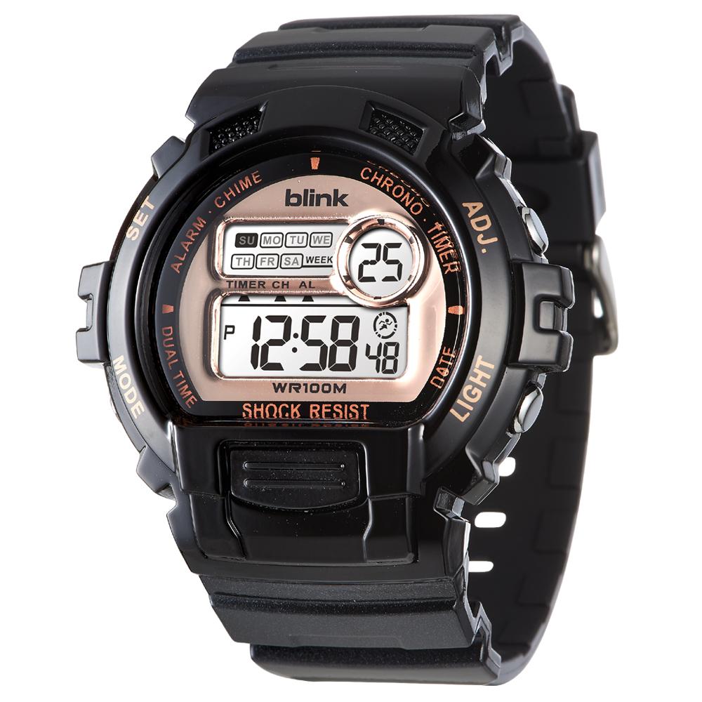 JAGA 捷卡 blink M886-AL 陽光炫麗多功能運動電子錶
