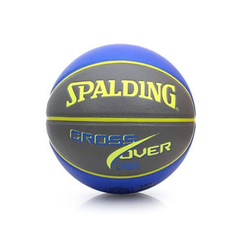 SPALDING CROSS OVER PU 7號籃球-室內外 芥末黃www feds com tw藍 F
