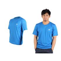 (男) NatureHike 短袖T恤-慢跑 圓領上衣 運動短T恤  藍 L