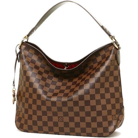 【好物分享】gohappy線上購物Louis Vuitton LV N41459 Delightful PM 棋盤格紋皮飾邊肩背包_預購效果好嗎太平洋 sogo 新竹