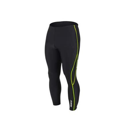 (男女) INSTAR 起點 緊身長褲-台灣製 慢跑緊身褲 路跑 籃球內搭褲  黑綠
