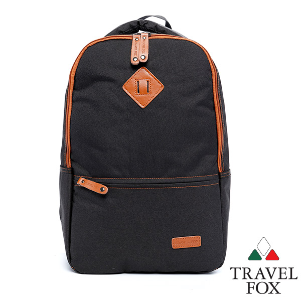 Travel Fox 旅狐亞爾後背包^(NB可入^)^(黑^)^(TB680~01^)