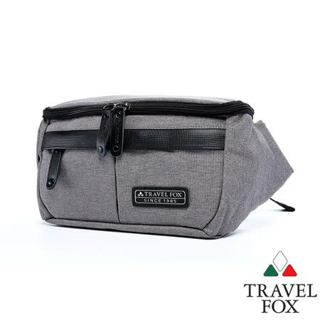 Travel Fox 旅狐光蔚布革隨身包(灰)(TB682-13)