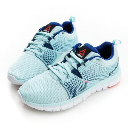 REEBOK (女)慢跑鞋-藍綠-V67527