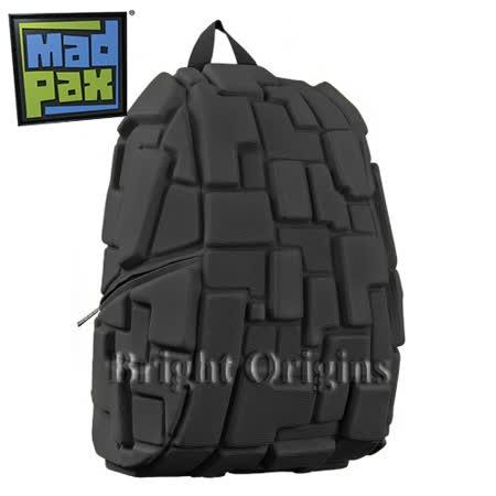 MadPax時尚造型包 積木包 大包(黑色)