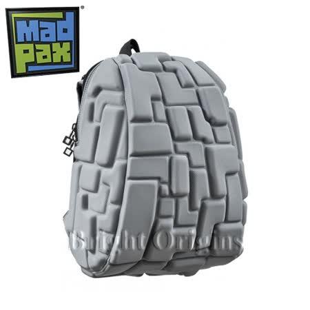 MadPax時尚造型包 積木包 中包(灰色)
