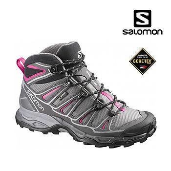 SALOMON 女GTX中筒多功能登山鞋371477