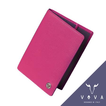 VOVA 自由系列3卡蜥蜴紋護照夾(桃紅色)VA106W018FU