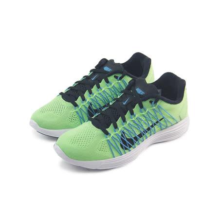 (女)NIKE WMNS LUNARACER+ 3 慢跑鞋 青綠/黑/藍-554683344
