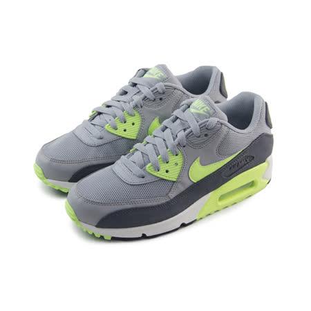 (女)NIKE WMNS AIR MAX 90 ESSENTIAL 休閒鞋 灰/螢光綠/黑-616730022