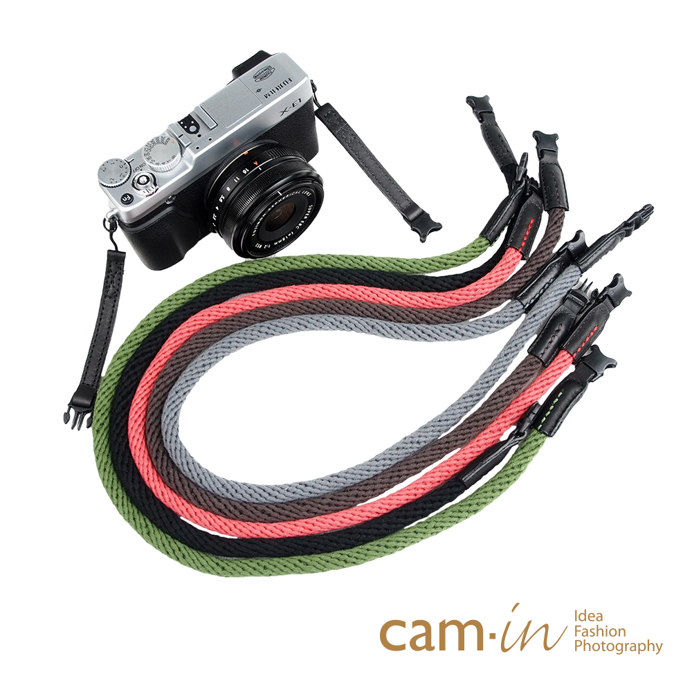 Cam in 棉織細繩款相機背帶(共五色)