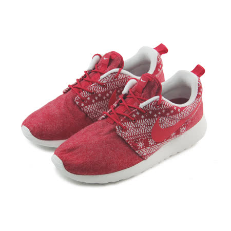 (女)NIKE WMNS ROSHE ONE WINTER 休閒鞋 紅/民族/幾何-685286661